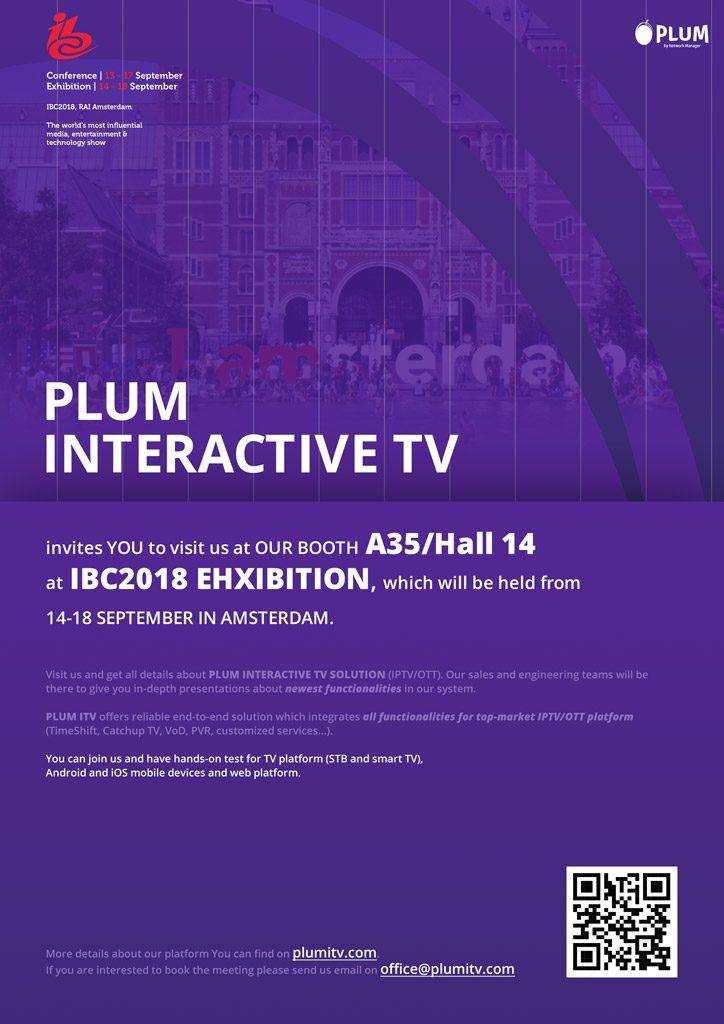 IBC 2018 Invitation